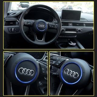 アウディ(AUDI)の《新品未使用》 Audi アウディ ステアリングホイール(ブルー)(車内アクセサリ)
