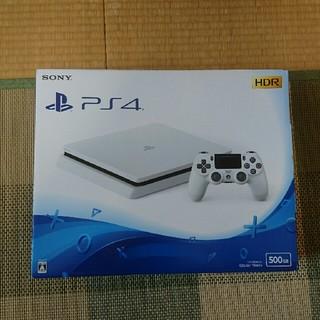 新品 プレイステーション4  500G Glacier white(家庭用ゲーム機本体)