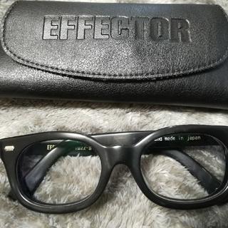 エフェクター(EFFECTOR)のエフェクターEFFECTOR / Fuzz-sファズ エス眼鏡  BK(サングラス/メガネ)