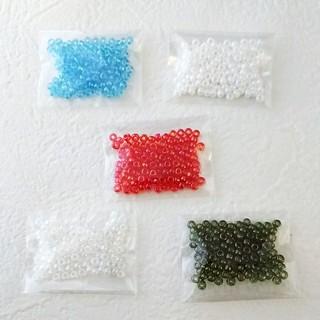 キワセイサクジョ(貴和製作所)の国産ガラスビーズ TOHOビーズ 丸大ビーズ ミニアソートパック 5色セットA (各種パーツ)