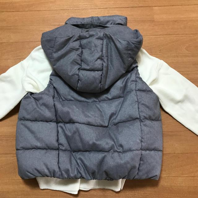 GU(ジーユー)のジーユー中綿ベスト M レディースのジャケット/アウター(ダウンベスト)の商品写真