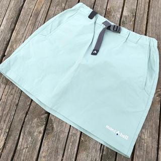 モンベル(mont bell)の超美品(*≧∀≦*) mont-bell ミントグリーン スカート(スカート)