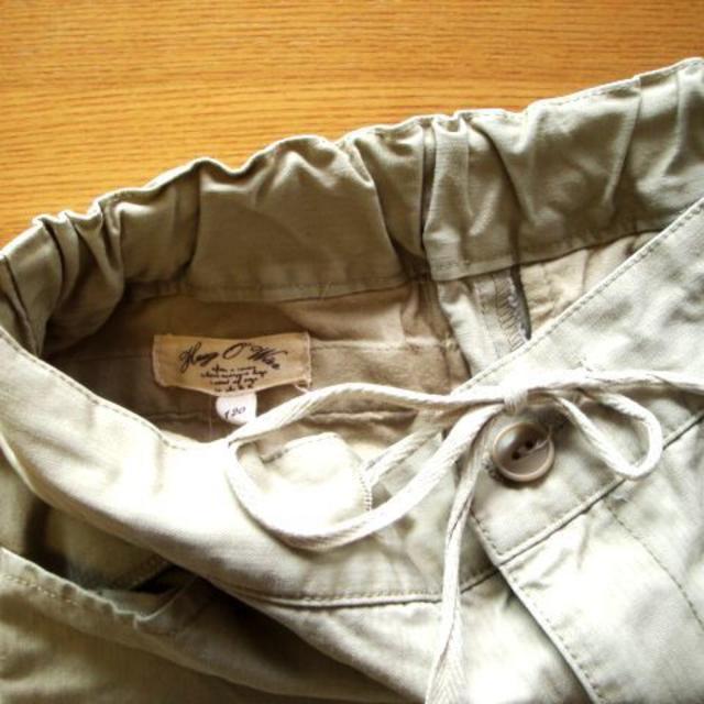 Hug O War(ハグオーワー)のハグオーワーHUG O WaRカーゴハーフパンツ120雅姫 キッズ/ベビー/マタニティのキッズ服 女の子用(90cm~)(パンツ/スパッツ)の商品写真