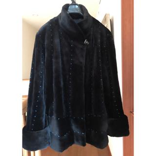 サガフォルム(Sagaform)の美品高級サガミンク ロイヤルレディース毛皮コート(毛皮/ファーコート)
