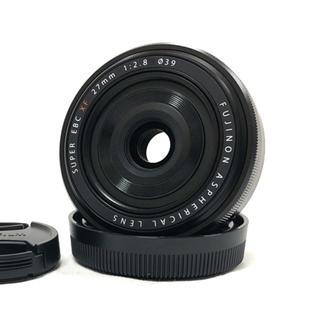 フジフイルム(富士フイルム)の新品★富士フイルム Fujifilm Fujinon XF 27mm f2.8(レンズ(単焦点))