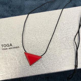 トーガ(TOGA)のTOGA トライアングルネックレス(ネックレス)