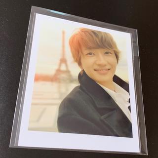 トリプルエー(AAA)のNissy(西島隆弘) ポラロイド風フォトカード(写真)