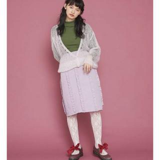 メリージェニー(merry jenny)のメリージェニー  フリルキルティングスカート(ひざ丈スカート)