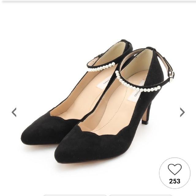 OPAQUE(オペーク)のパンプス 黒 レディースの靴/シューズ(ハイヒール/パンプス)の商品写真
