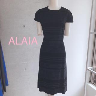 アズディンアライア(Azzedine Alaïa)のALAIA dress 新品 XS(ひざ丈ワンピース)