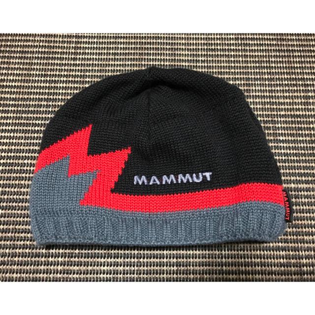Mammut(マムート)の最終値下げ マムート ニット帽 ビーニー スポーツ/アウトドアのアウトドア(登山用品)の商品写真