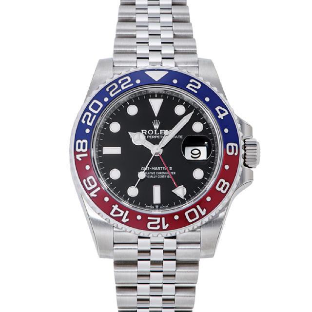 GMTマスターII 126710BLRO  メンズの時計(腕時計(アナログ))の商品写真
