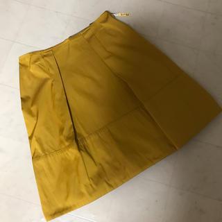 アンレクレ(en recre)のアンレクレ  リバーシブル スカート タフタ(ひざ丈スカート)