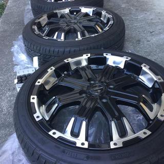 グッドイヤー(Goodyear)のタイヤ・ホイール 4本セット+ホイールラグナット (タイヤ・ホイールセット)