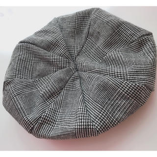 ザラ(ZARA)の✳︎ベレー帽 チェック柄✳︎(ハンチング/ベレー帽)