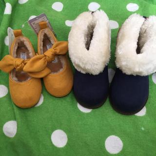 フタフタ(futafuta)の《新品・未使用》conocoブーツ13cm&mamarakuリボン靴14cm2足(ブーツ)