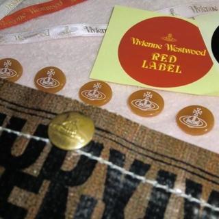 ヴィヴィアンウエストウッド(Vivienne Westwood)のORBボタン6個・リボン・シール他ヴィヴィアンウエストウッド(各種パーツ)