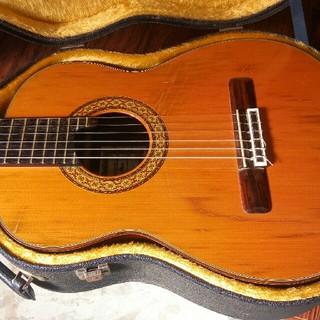 値下松岡子供用ギターM30T 1981年製トップ単板(クラシックギター)