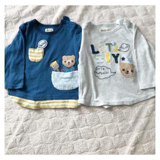 キムラタン(キムラタン)のキムラタン ピッコロ 長袖Tシャツセット 80(Tシャツ)