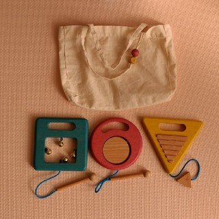 gg* gakki 木製楽器(楽器のおもちゃ)