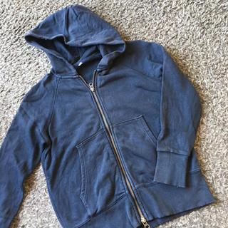 ムジルシリョウヒン(MUJI (無印良品))の無印良品Wジップパーカー140(ジャケット/上着)