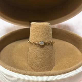 アガット(agete)のアベリ ダイヤモンドリング(リング(指輪))