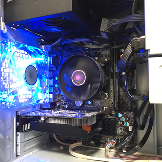 インテレクション(INTELECTION)のゲーミングPC i5 3470 GTX750 SSD windows10 (デスクトップ型PC)