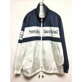 セルジオタッキーニ(Sergio Tacchini)の90's 古着 Sergio tacchini セルジオタッキー二 ジャケット(ナイロンジャケット)