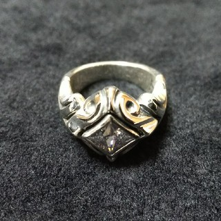 エムズコレクション(M's collection)のエムズコレクション WHジルコニア リング XR-002 CZ 5号 新品未使用(リング(指輪))