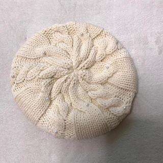 ジーユー(GU)のGU ニットベレー帽(ハンチング/ベレー帽)