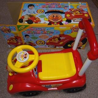 アンパンマン(アンパンマン)のアンパンマン NEW メロディアンパンマンカー 押し車(手押し車/カタカタ)