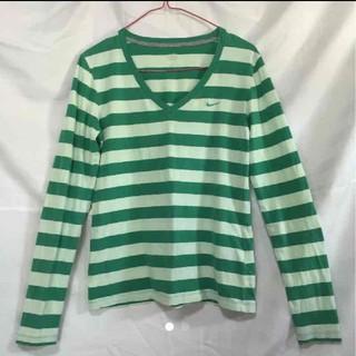 ナイキ(NIKE)のナイキ ロンT ボーダー(Tシャツ(長袖/七分))