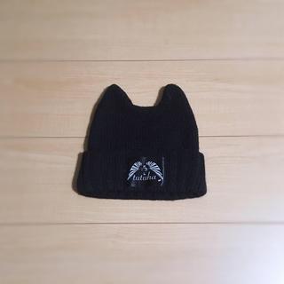 チュチュア(tutuHA)のほぼ新品 デビル ニット帽 猫耳 V系 バンギャ (313(ニット帽/ビーニー)