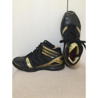 アディダス(adidas)のアディゼロ クレイジーライト 26.5センチ ブラック 黒 バッシュ アディダス(バスケットボール)