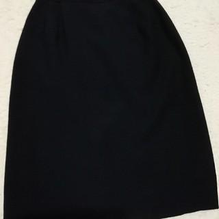 アトリエサブ(ATELIER SAB)の黒スカート(ひざ丈スカート)