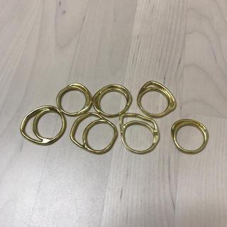 イオッセリアーニ(IOSSELLIANI)のyamasan0504様専用 イオッセリアー二 パズルリング 7本(リング(指輪))