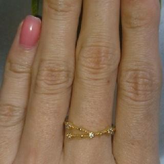 アネモネ(Ane Mone)のアネモネ♪ゴールドジルコニアリング13号(リング(指輪))