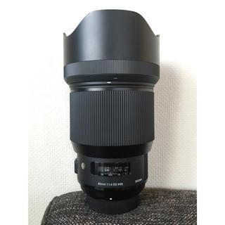 シグマ(SIGMA)のSIGMA 85mm f1.4 Art 単焦点レンズ Nikon Fマウント(レンズ(単焦点))