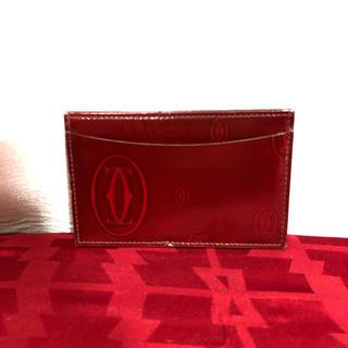 カルティエ(Cartier)のCartier カルティエ ハッピーバースデー カードケース 正規品(名刺入れ/定期入れ)