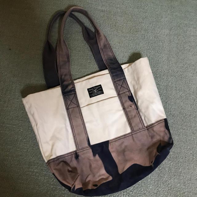 SCANNER(スキャナー)の最終値下げセール!送料込み‼︎ scanner tote bag アメカジ レア メンズのバッグ(トートバッグ)の商品写真