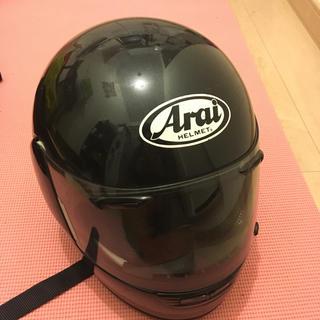 アライテント(ARAI TENT)のArai ヘルメット フルフェイス 黒(ヘルメット/シールド)