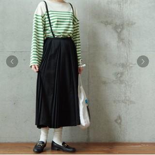 フィグロンドン(fig London)のフィグロンドンプリーツスカート(黒)(その他)