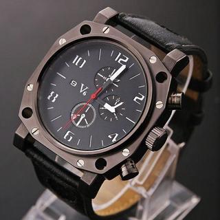 エドックス(EDOX)の限定 VV6のメンズ スクエア腕時計白   GSX 5130 エドックス(腕時計(アナログ))