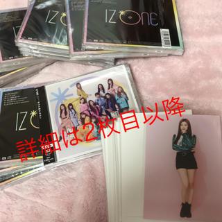 アイズ・プロジェクト(AIZU PROJECT)のIZ*ONE CD(K-POP/アジア)