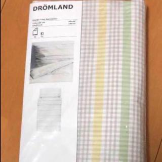 イケア(IKEA)のIKEA DRÖMLAND 掛け布団カバー/枕カバー ベビーベッド用(シーツ/カバー)