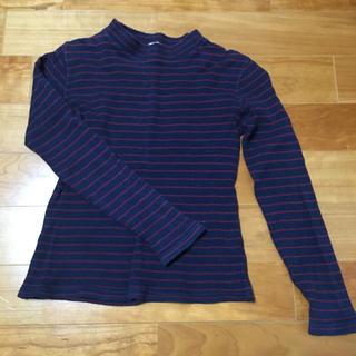 ジーユー(GU)のGU ボーダーTシャツ(Tシャツ(長袖/七分))