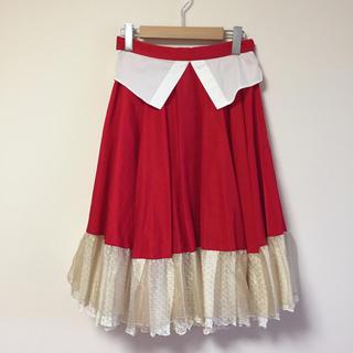 ノゾミイシグロ(NOZOMI ISHIGURO)の綺羅♡ティアードスカート(ひざ丈スカート)