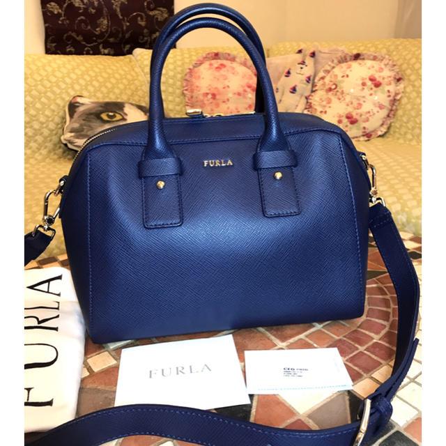 0547f89c43e7 Furla(フルラ)の美品本物⭐︎FURLAフルラ アレグラ サッチェル 2wayショルダーバッグ