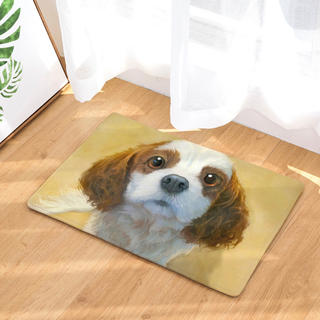 ❤️ 新品 未開封 ❤️ キャバリア 玄関 マット  犬(玄関マット)