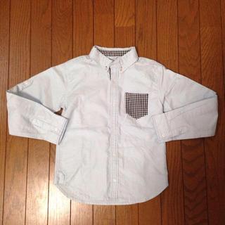 イッカ(ikka)の130cmギンガムチェックこなれシャツ(その他)
